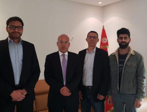 Rencontre avec M. Youssef Bouzakher – Président du Conseil supérieur de la magistrature